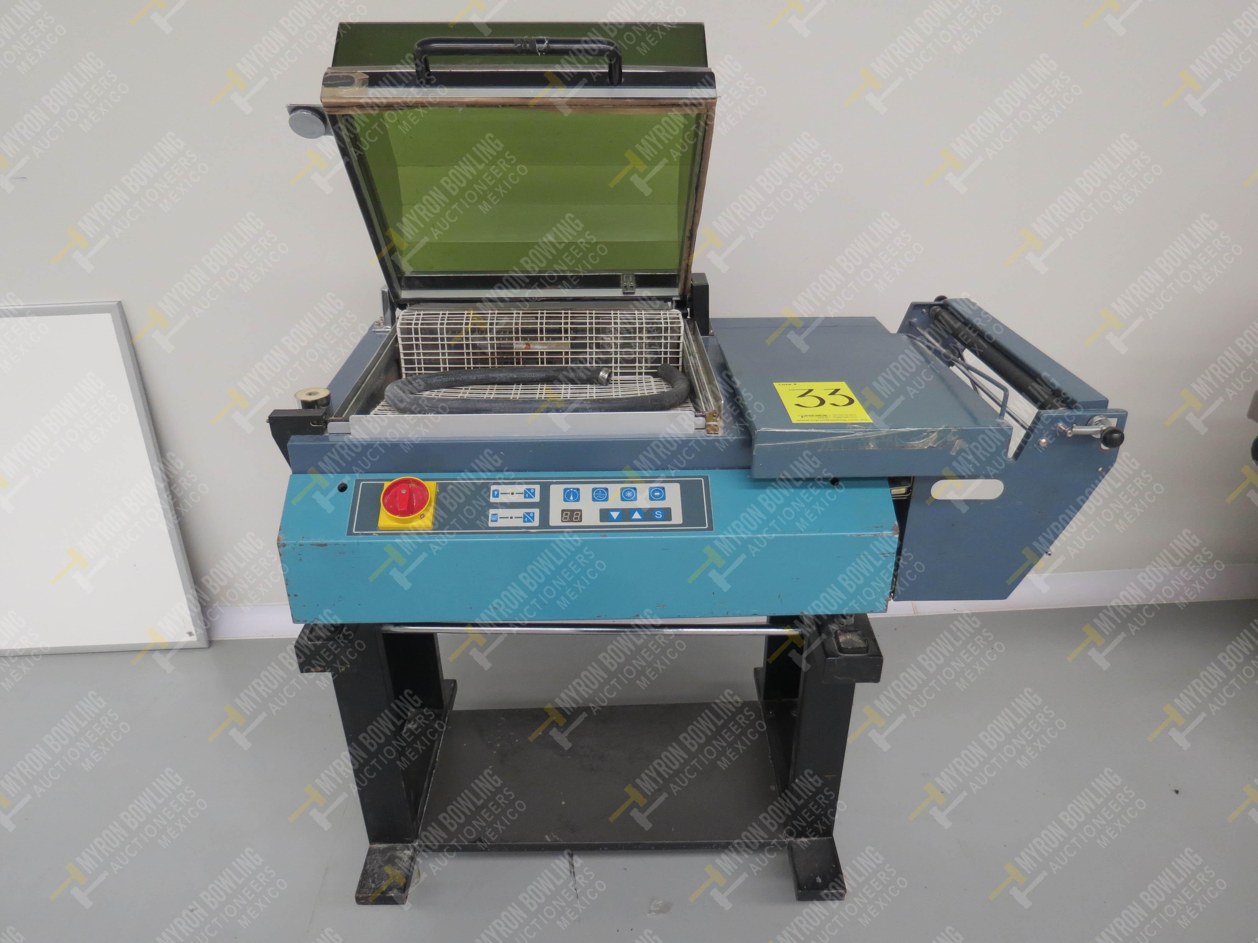 Máquina emplayadora Modelo EKH-346, No. de Serie 0601012B