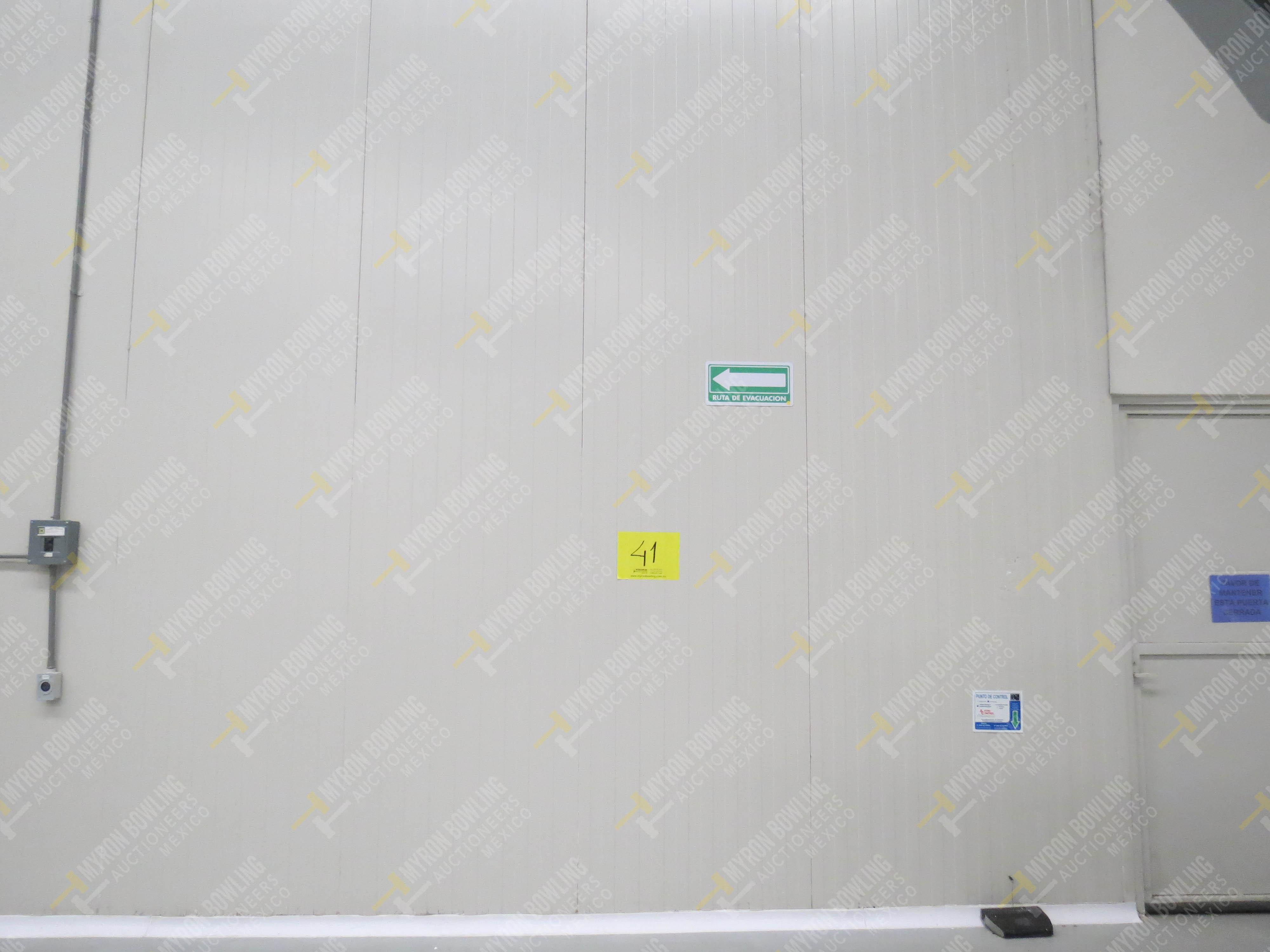 Cámara de refrigeración marca Krack, Modelo CSD-0301-L4K-133DD medidas 6.80 x 13.30 x 5.80 - Image 4 of 15