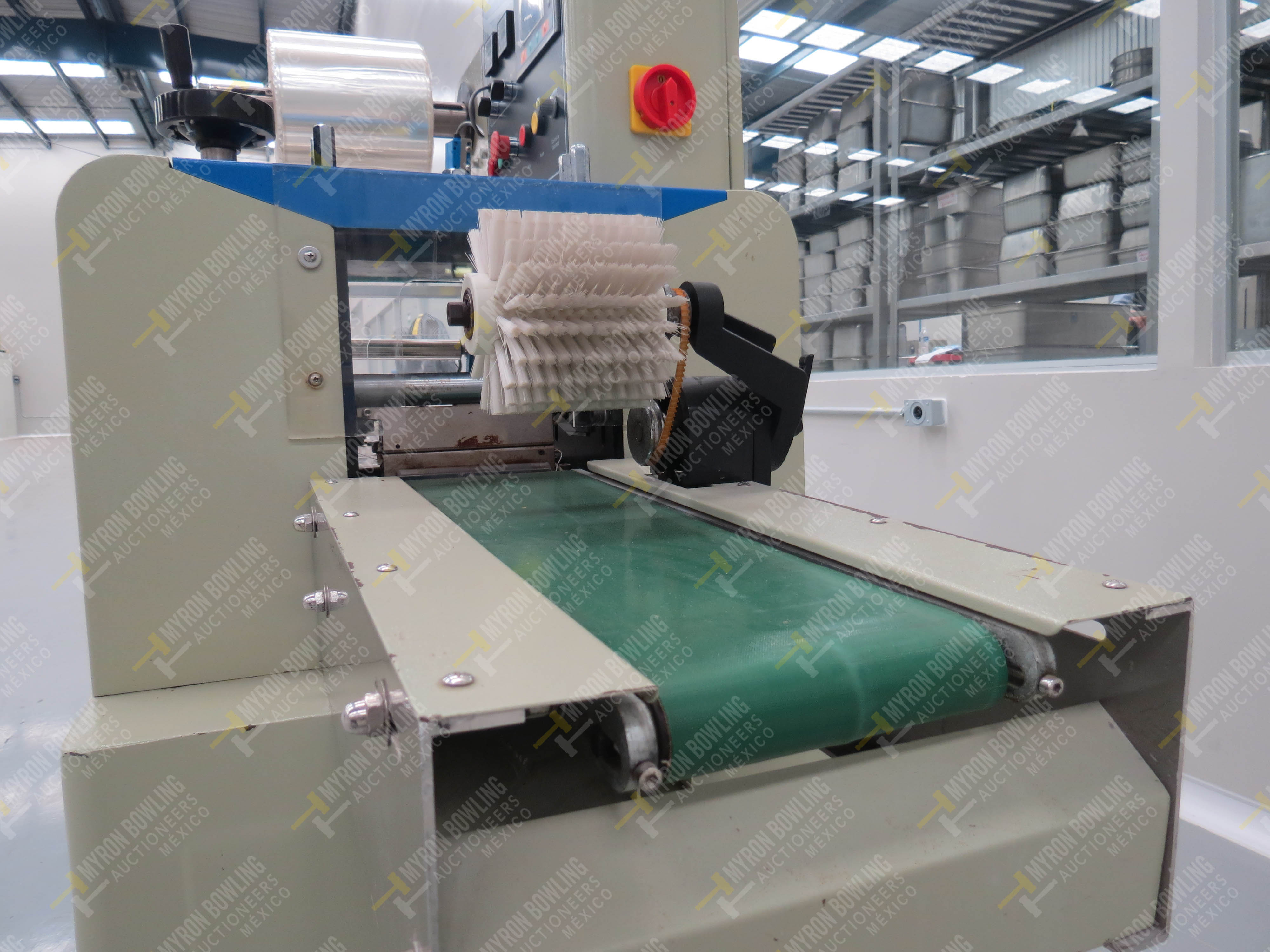 Máquina empacadora automática tipo almohadilla marca Shandong Saixin Inflating Machinery … - Image 9 of 9