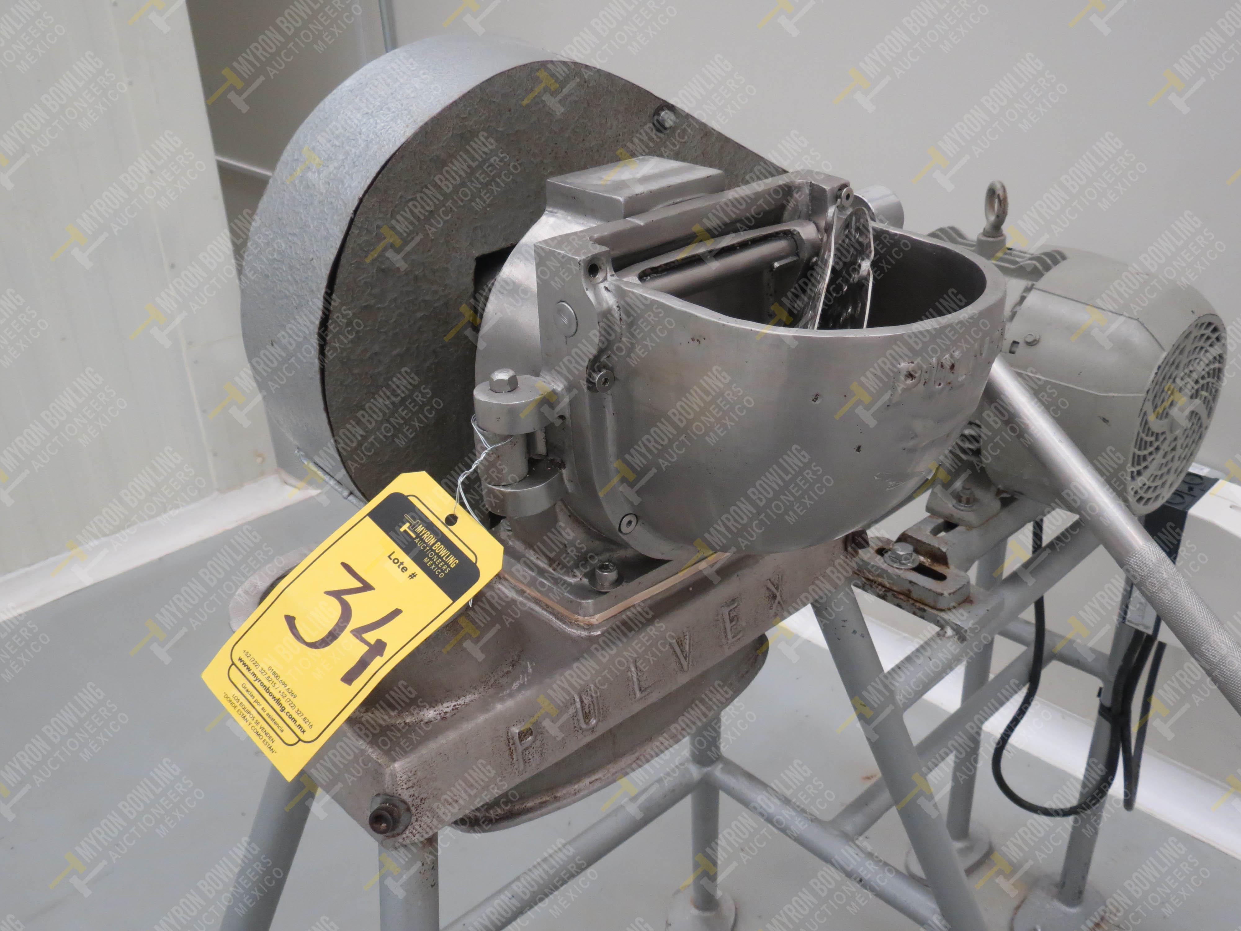 Molino rallador marca Pulvex, Modelo PR200AI316, en acero inoxidable, capacidad de motor 3… - Image 2 of 4