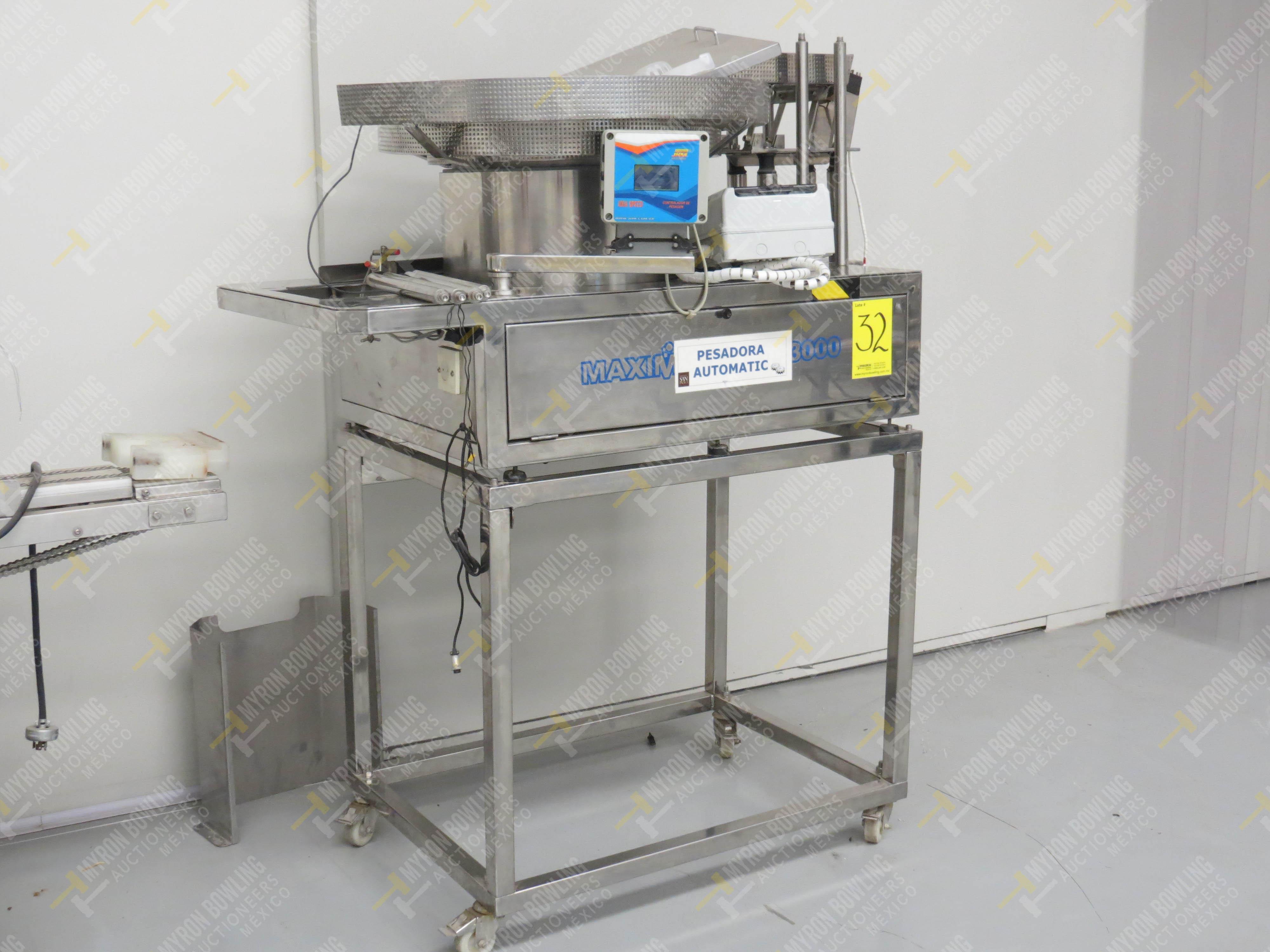 Pesadora automática de precisión marca JHM Máquinas, Modelo Maximatic CLP 3000 Incluye … - Image 2 of 5
