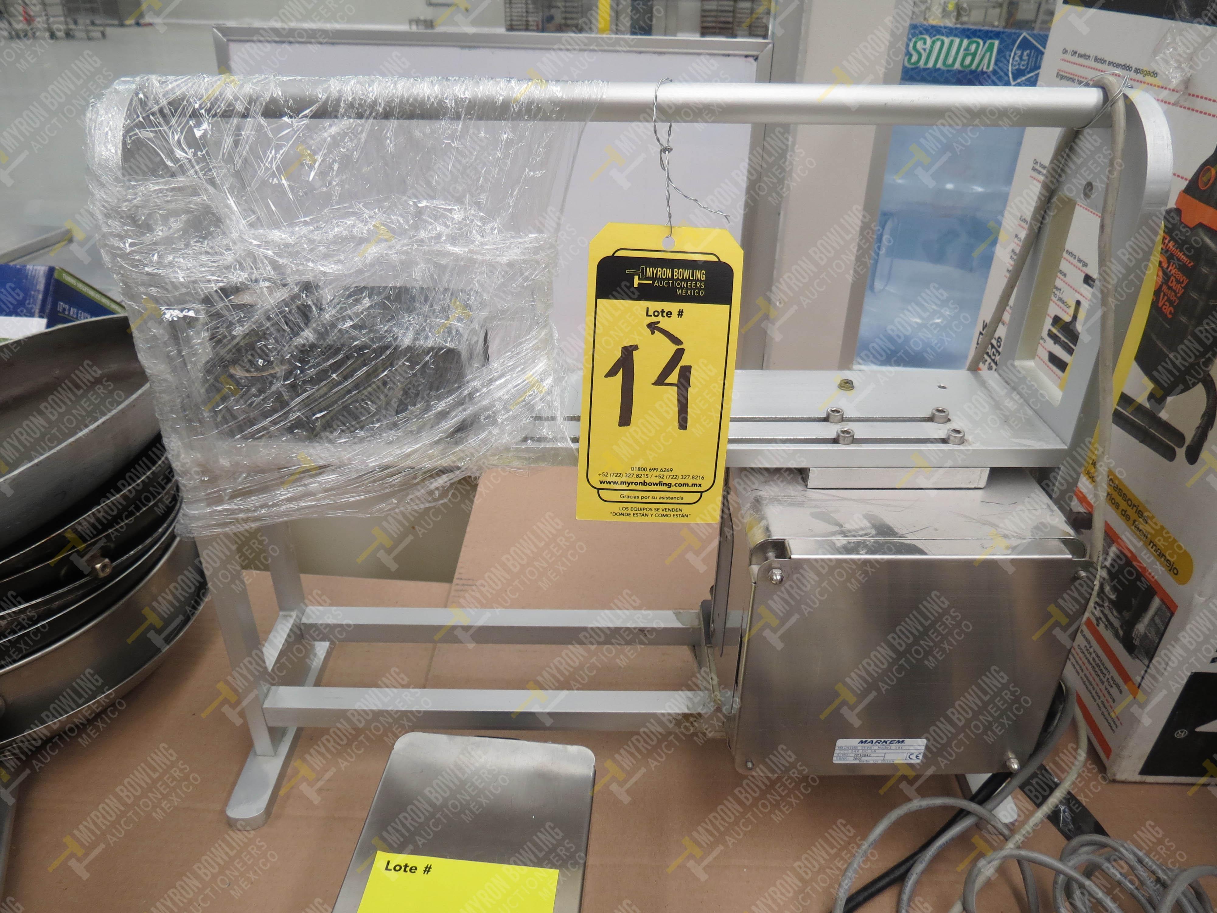 Máquina marcadora digital marca Markem, Modelo 18I, No. de Serie 7P10842, año 2007