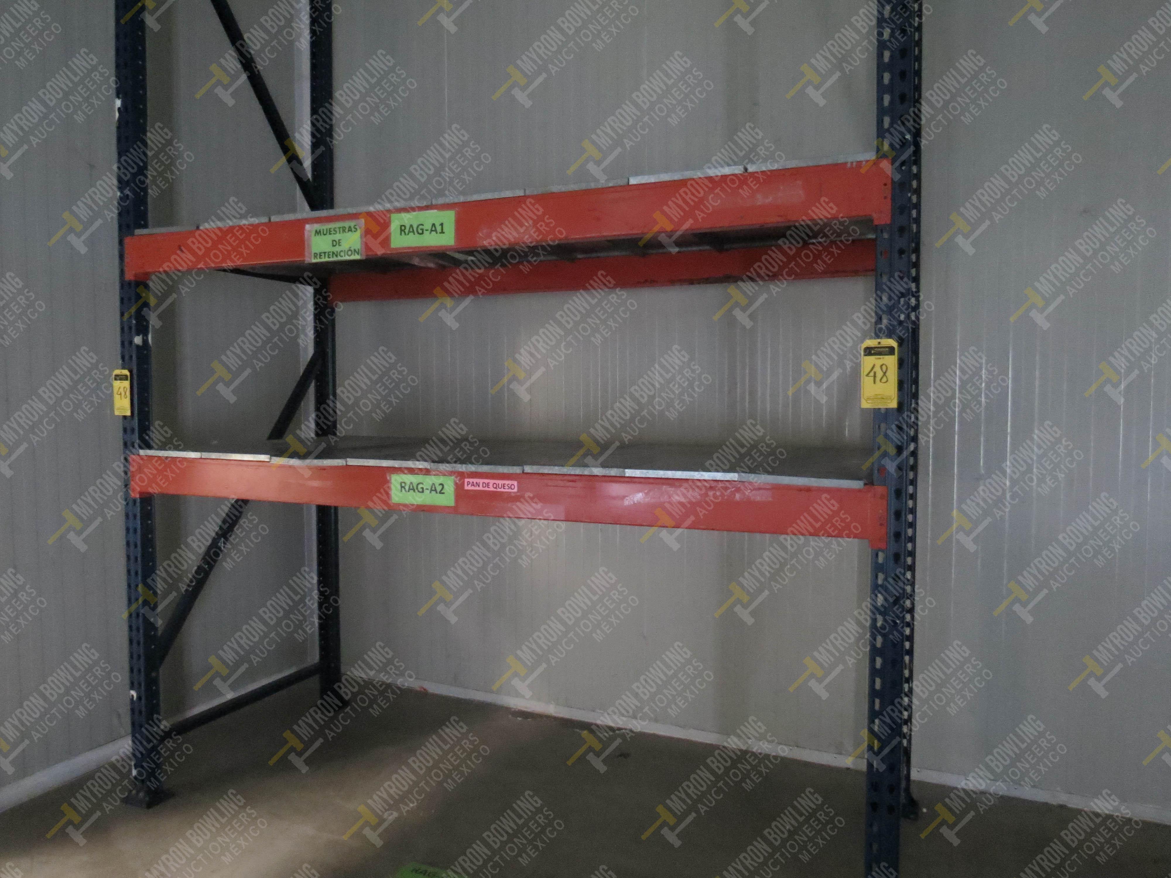 Rack de carga de 9 postes de 1.07 x 4 con 20 travesaños de 2.20 m, se incluye un poste … - Image 3 of 5