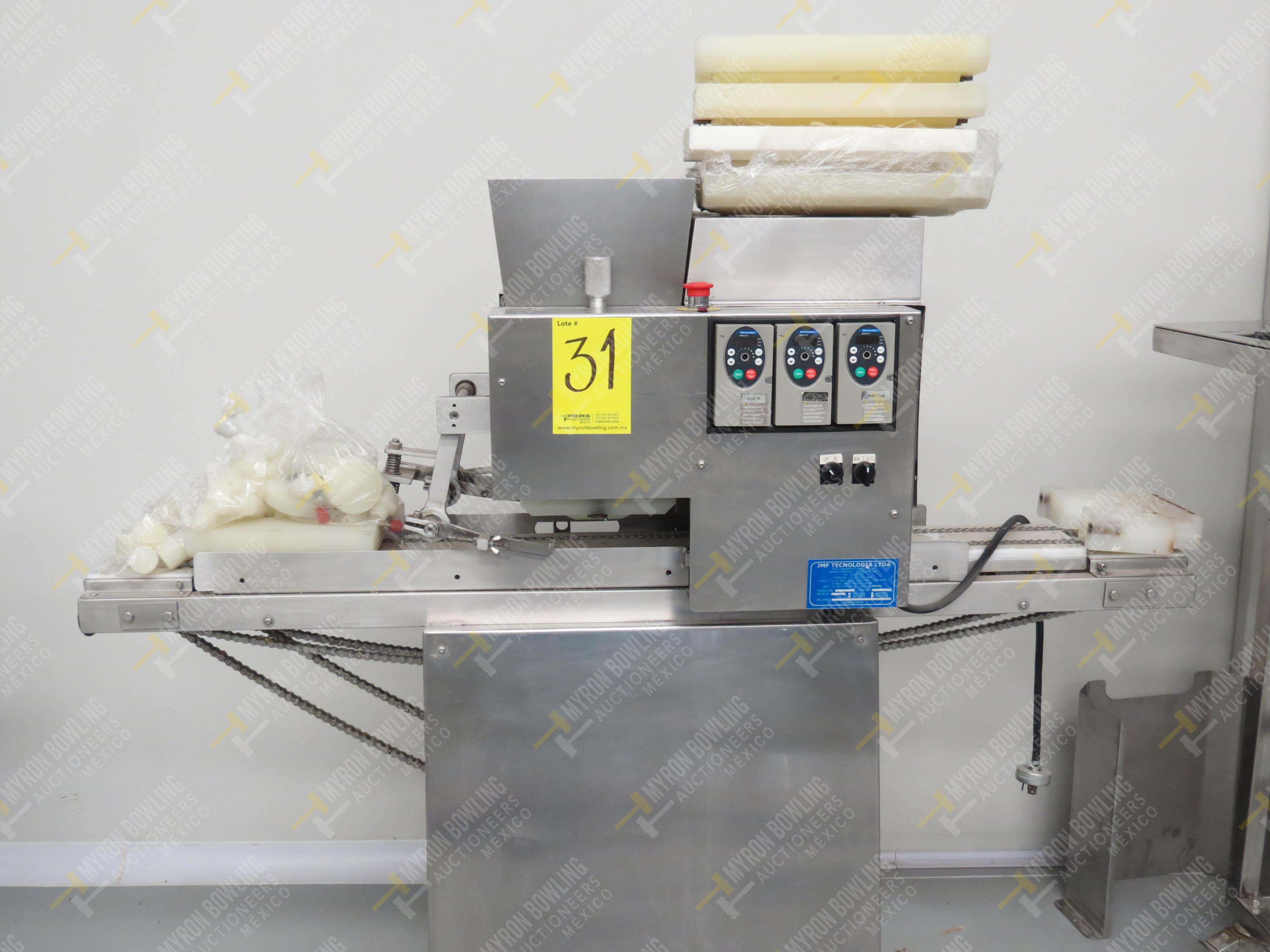 Dosificador de masa marca JMF Tecnología LTDA, Modelo 20012-ESP, No. de Serie 8063201647 - Image 2 of 7