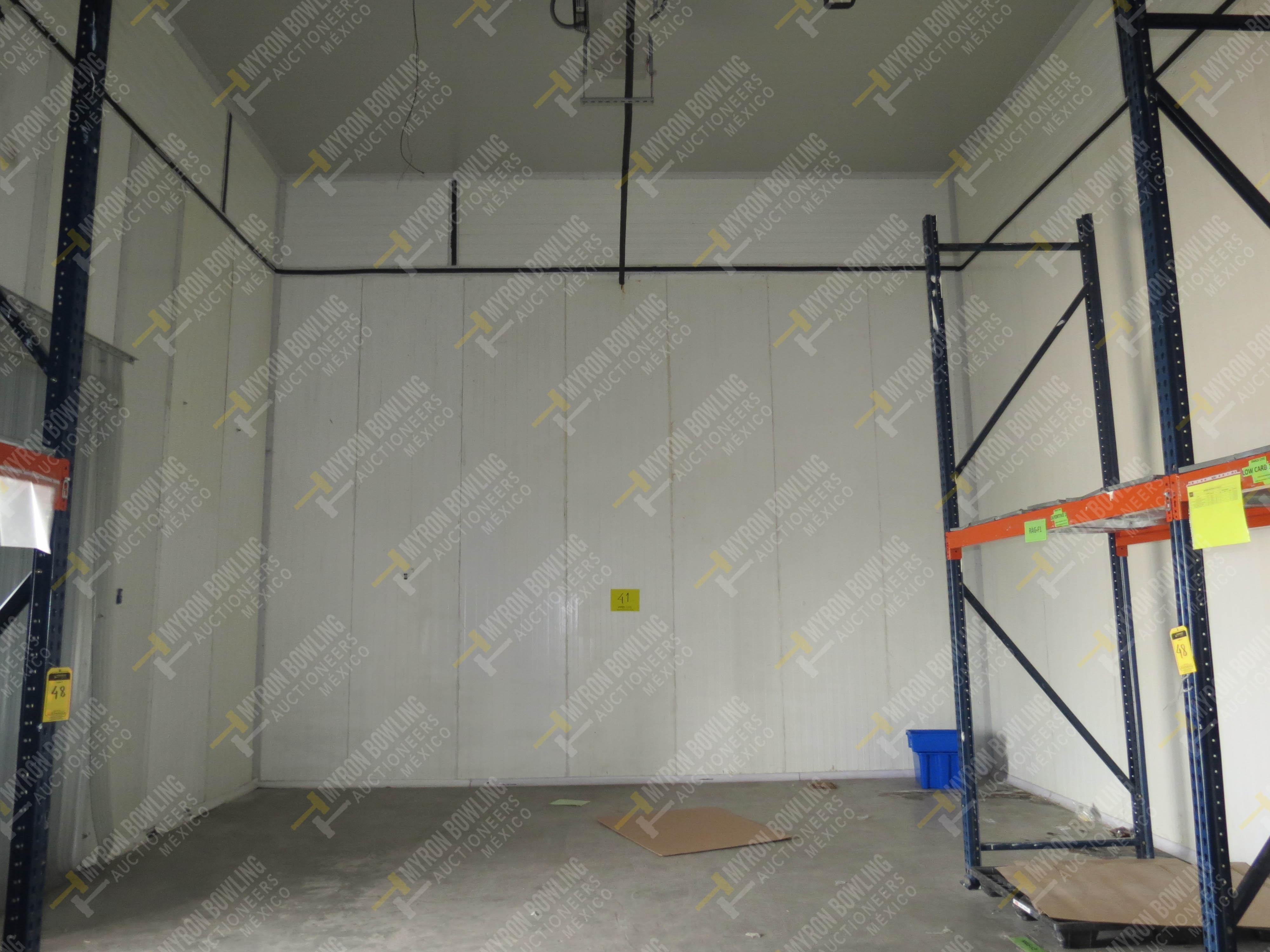 Cámara de refrigeración marca Krack, Modelo CSD-0301-L4K-133DD medidas 6.80 x 13.30 x 5.80 - Image 6 of 15