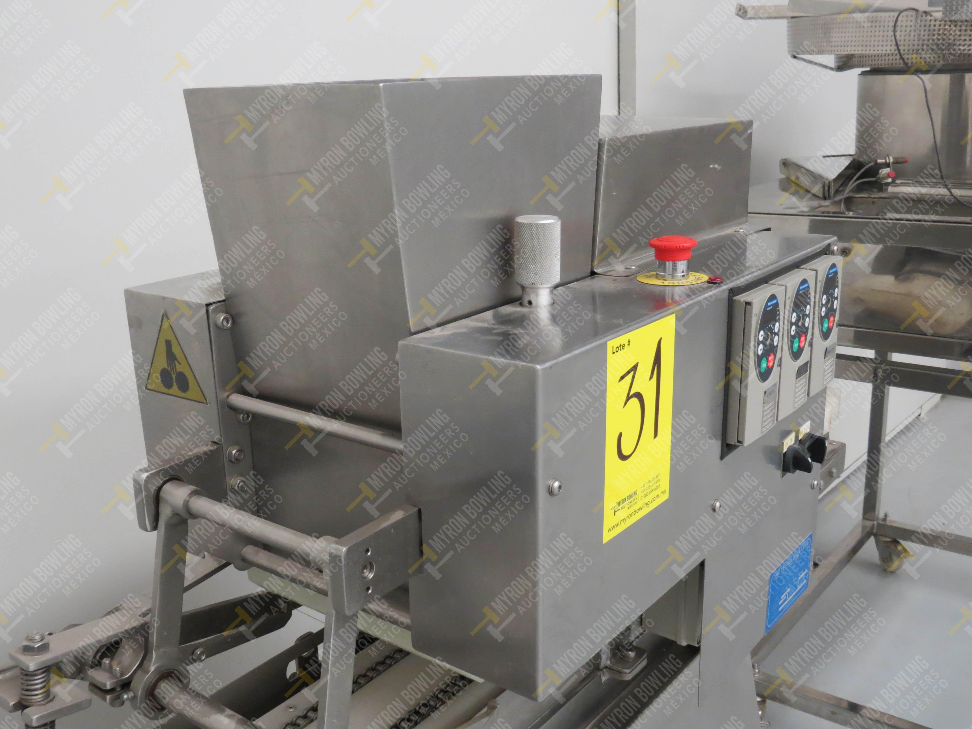 Dosificador de masa marca JMF Tecnología LTDA, Modelo 20012-ESP, No. de Serie 8063201647 - Image 4 of 7