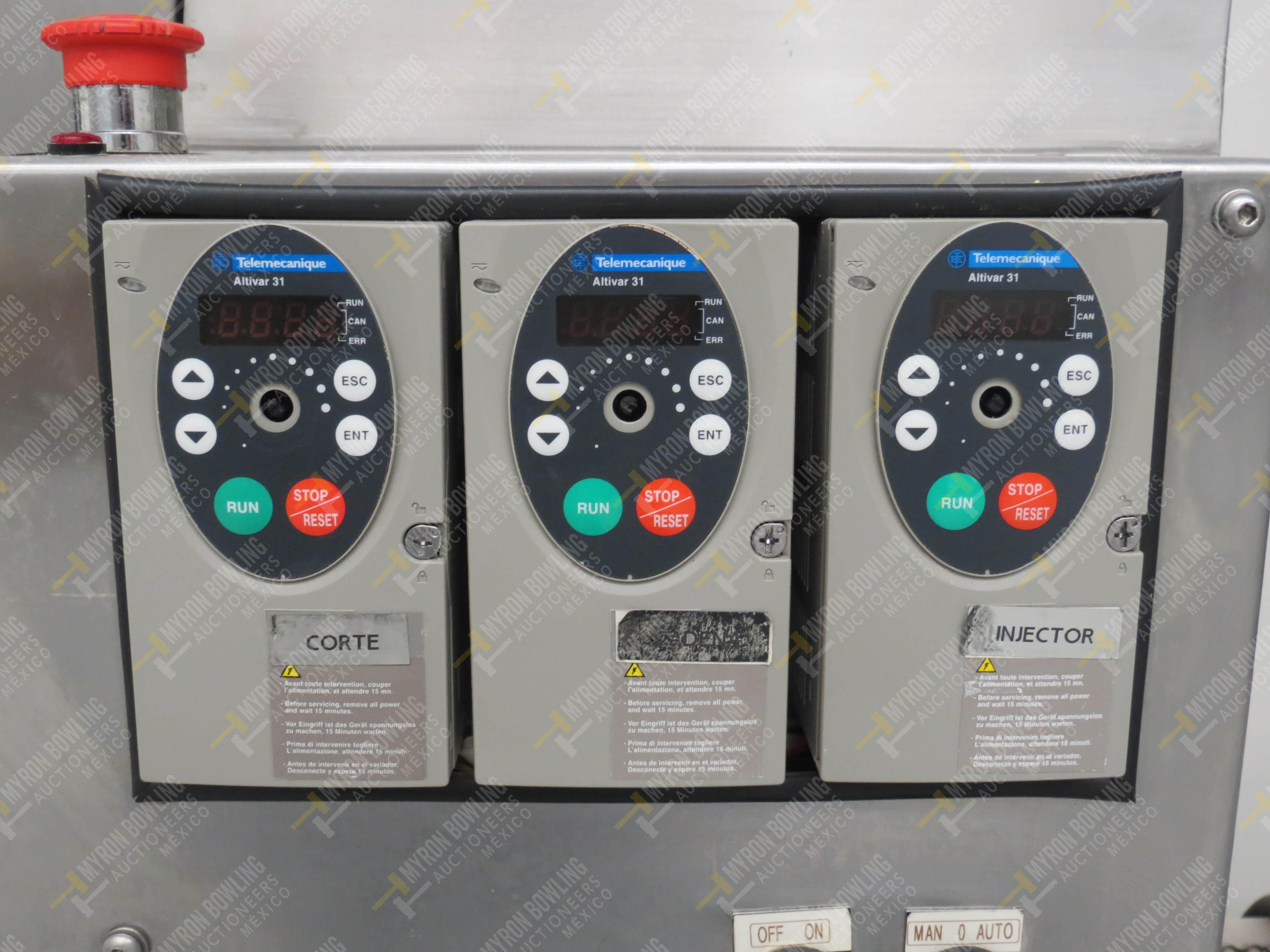 Dosificador de masa marca JMF Tecnología LTDA, Modelo 20012-ESP, No. de Serie 8063201647 - Image 3 of 7