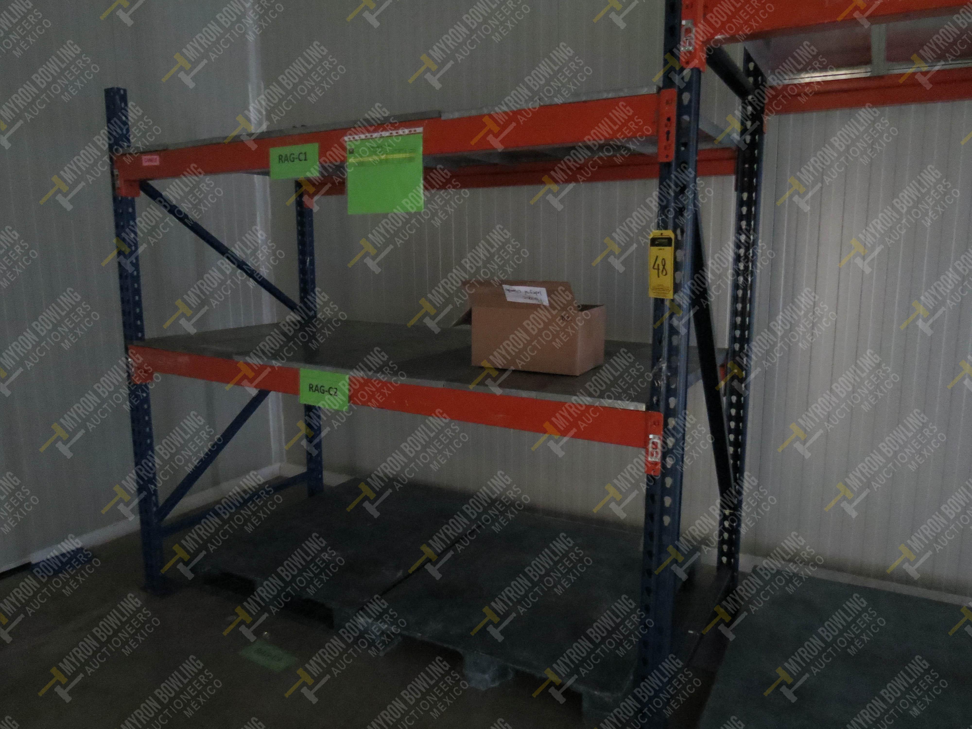 Rack de carga de 9 postes de 1.07 x 4 con 20 travesaños de 2.20 m, se incluye un poste … - Image 2 of 5
