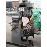 "INDEX Mill Machine Type C000 Model L 1 HP RPM 1000 cycle 60 220 volts 9x46 1/2""/ Fresadora"