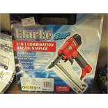 82fc7f56b Clarke CSN1D 2-In-1 Air Staple and Nail Gun Kit