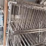 2 x 10 Tier Trolleys 60 x 40cm Wire Baskets
