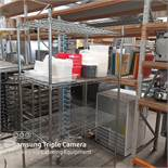 4 Tier Heavy Duty Shelving Unit With Containers