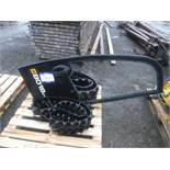 MINI DIGGER TRACKS x2 AND DOOR TO SUIT MODEL 8018