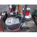 VICTOR MULTISPEED ROTTARY SCRUBBER AND POLISHER x3