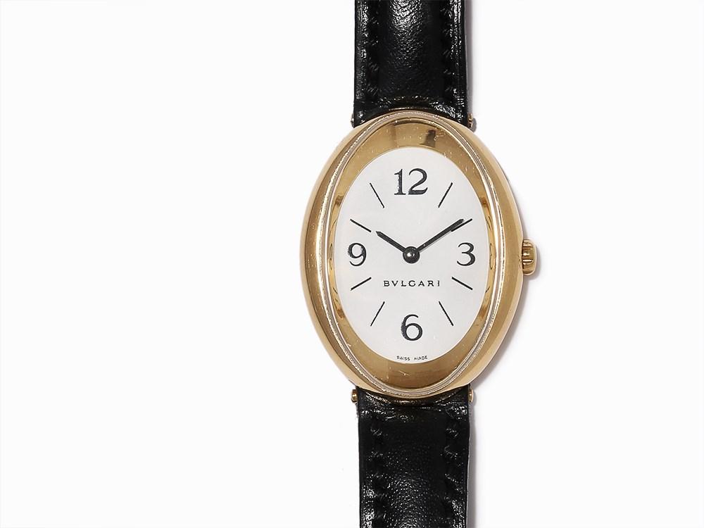Bvlgari Ladies Oval Wristwatch Ref Ov 32 G C 2010