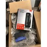 {LOT} Telephone System c/o: Cordless Phone, Router, Modem, Etc.