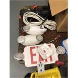 {LOT} Security Exit Sign, Lights & SDS Communication System Sign