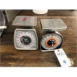 (2) Taylor & Palouze Food Portion Scales