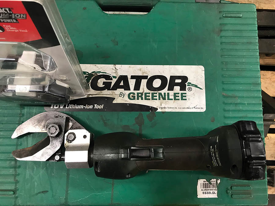 GREENLEE 18V CORDLESS SHEAR, MODEL GATOR, 1.5-TON OUTPUT - Image 2 of 3
