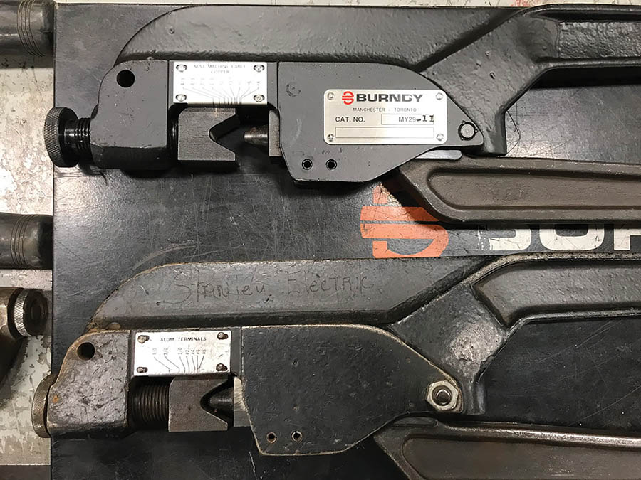 (X2) BURNDY TERMINAL CRIMPERS - Image 3 of 3