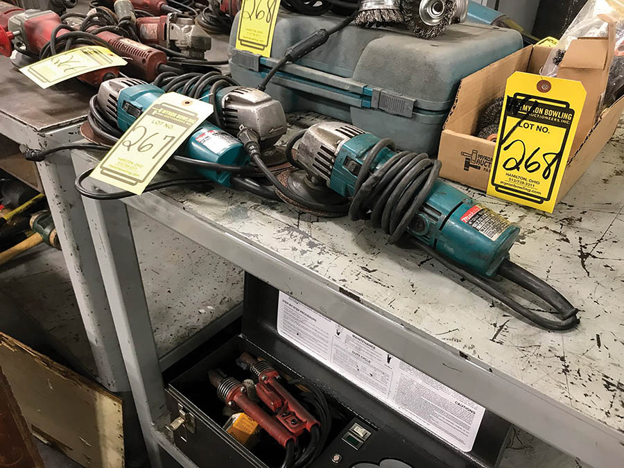 MAKITA 4-1/2'' ELECTRIC ANGLE GRINDERS, MODEL N9501B, 115V - Image 2 of 2