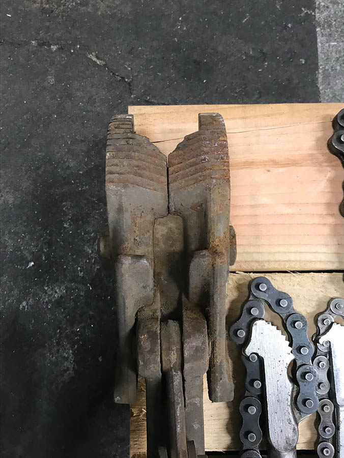 (X5) CHAIN PIPE WRENCHES - Image 2 of 3