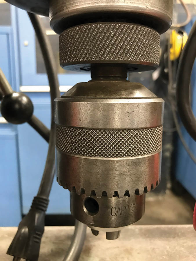MILWAUKEE MAGNETIC BASE DRILL, MODEL 4202, S/N 50414485, 1-1/4'' CHUCK, 375/750 RPM - Image 3 of 3