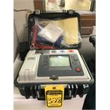 MEGGER 10KV INSULATION TESTER, MODEL MIT1020/2, 85-265VAC RMS, 60VA, 50/60 HZ