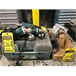 MAKITA 4-1/2'' ELECTRIC ANGLE GRINDERS, MODEL GA4030, 115V