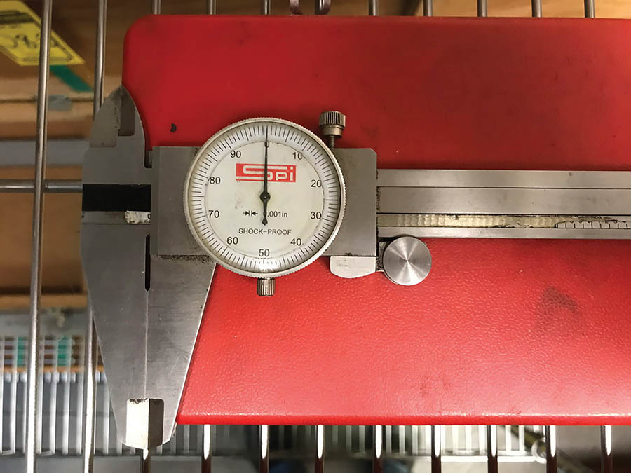 (X4) DIAL CALIPERS, (2) 12'' SPI, (1) 12'' FOWLER, & (1) 6'' FOWLER - Image 3 of 4