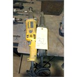 LOT OF ELECTRIC PIPE GRINDERS, I.D.