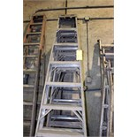 Lot 47 - LOT OF A-FRAME LADDERS, 8'