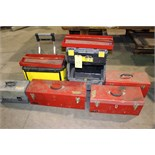 Lot 43 - LOT OF TOOL BOXES