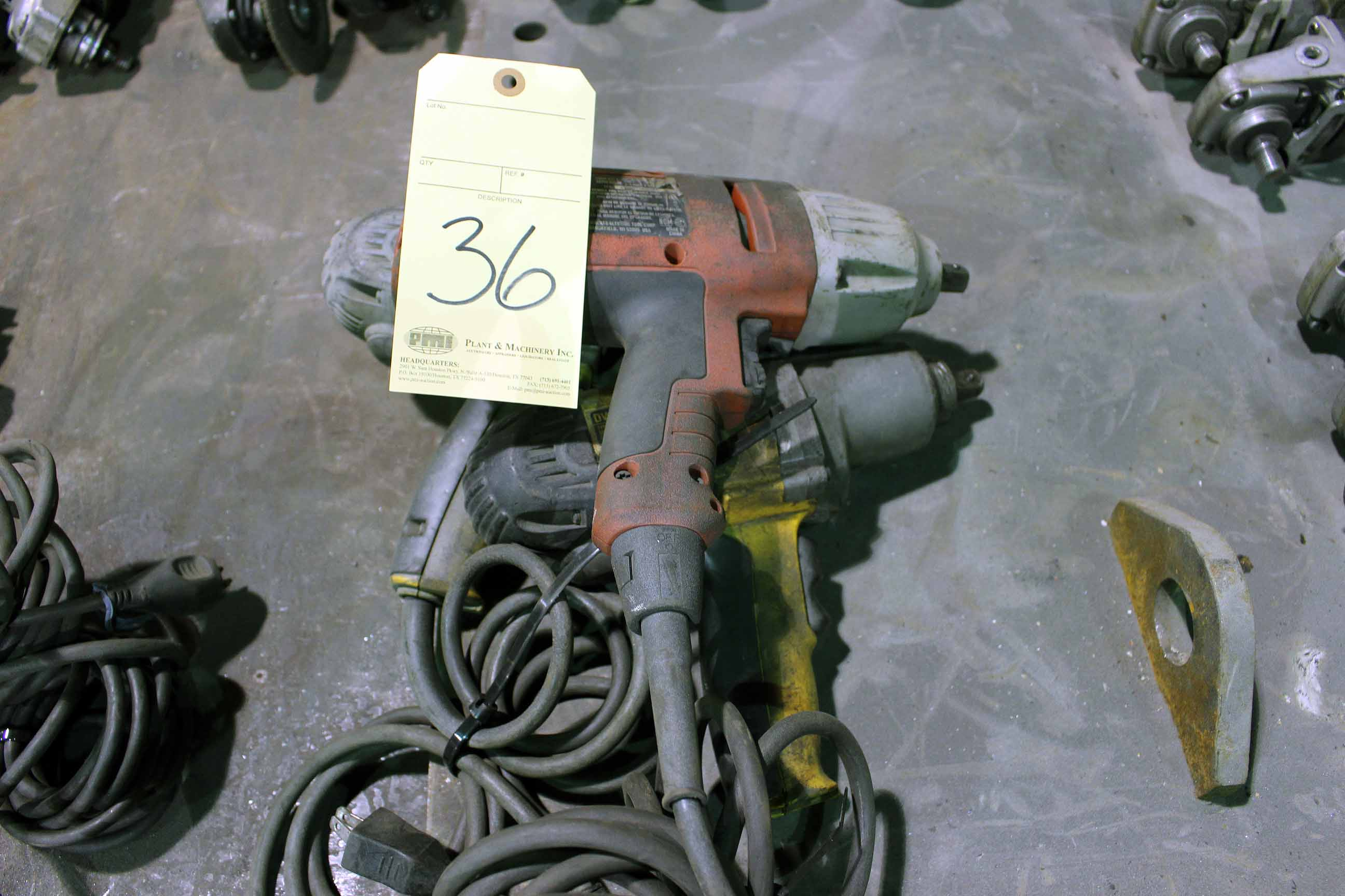 Lot 36 - LOT OF ELECTRIC IMPACT GUNS