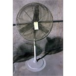 PEDESTAL SHOP FAN, 30""