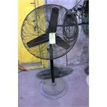 Lot 50 - PEDESTAL SHOP FAN, 30""