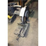 Lot 12 - ELECTRIC CHOP SAW, METAL DEVIL, 14""