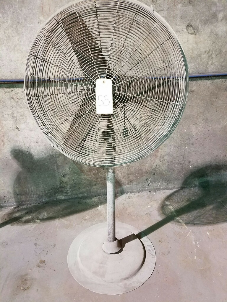 Lot 55 - PEDESTAL SHOP FAN, 30""