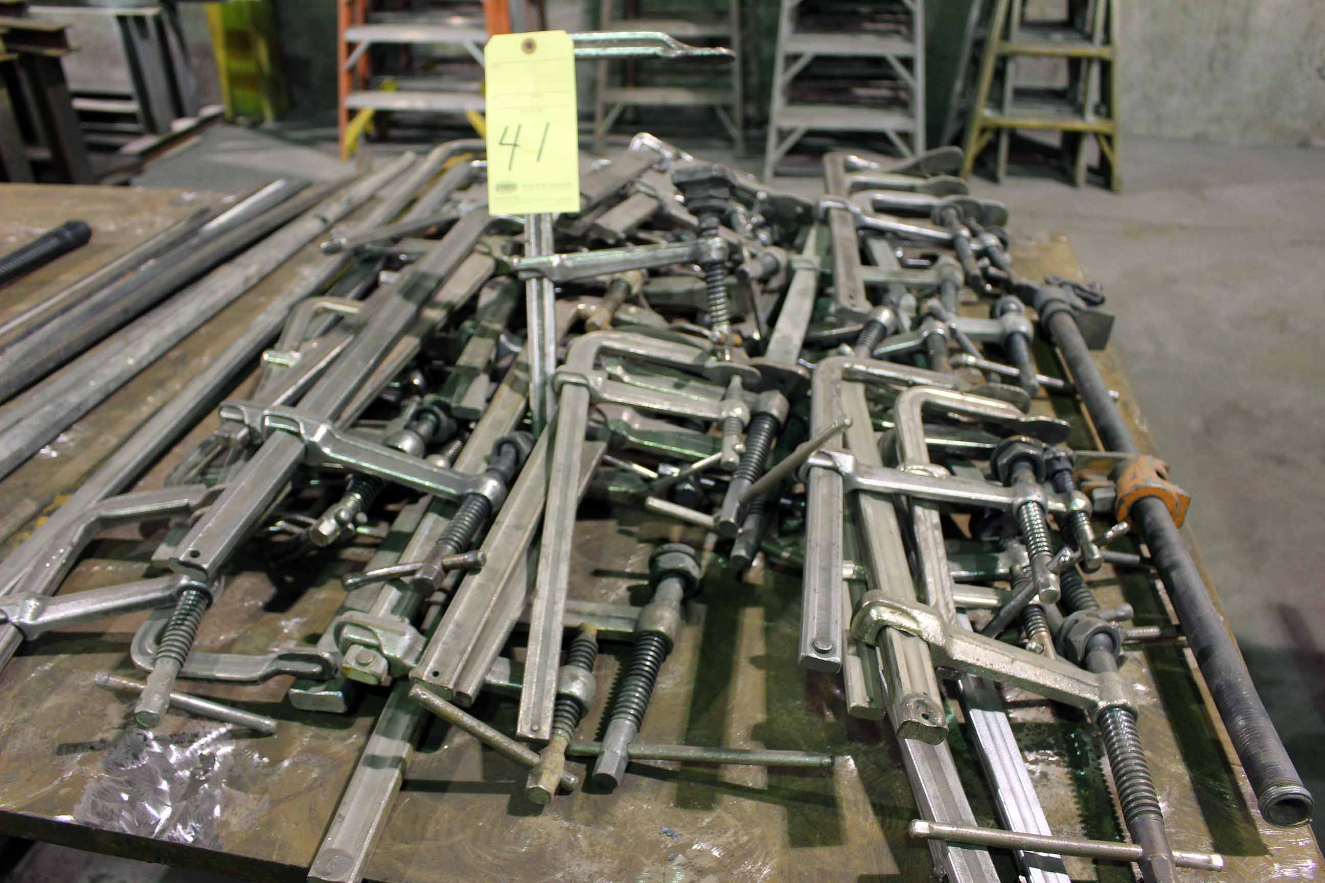 Lot 41 - LOT OF SWIVELLING HOLD-DOWN CLAMPS, RITEHITE