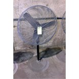Lot 52 - PEDESTAL SHOP FAN, 30""