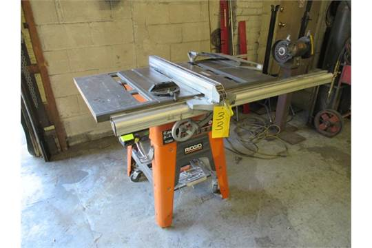 100 Contractor Saw No Ts3650 Finewoodworking Ridgid 10