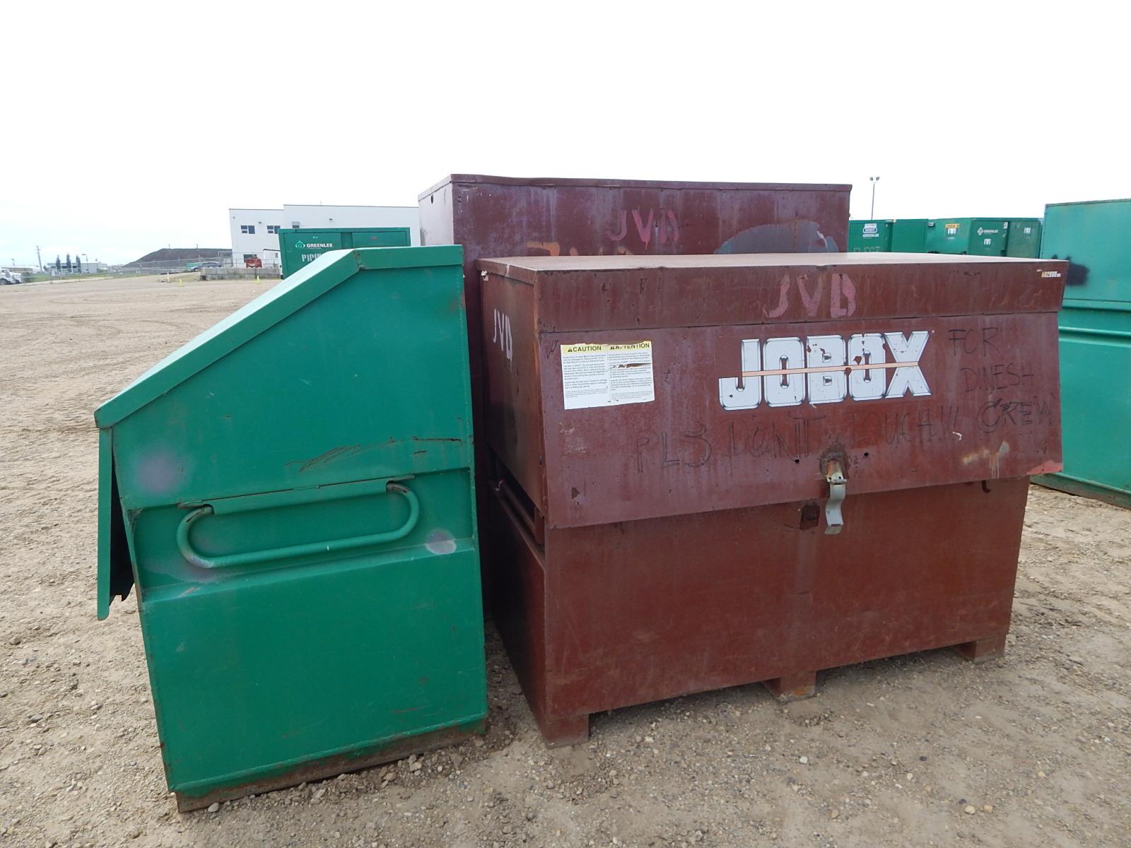 LOT/ (3) JOB BOXES - Image 3 of 4