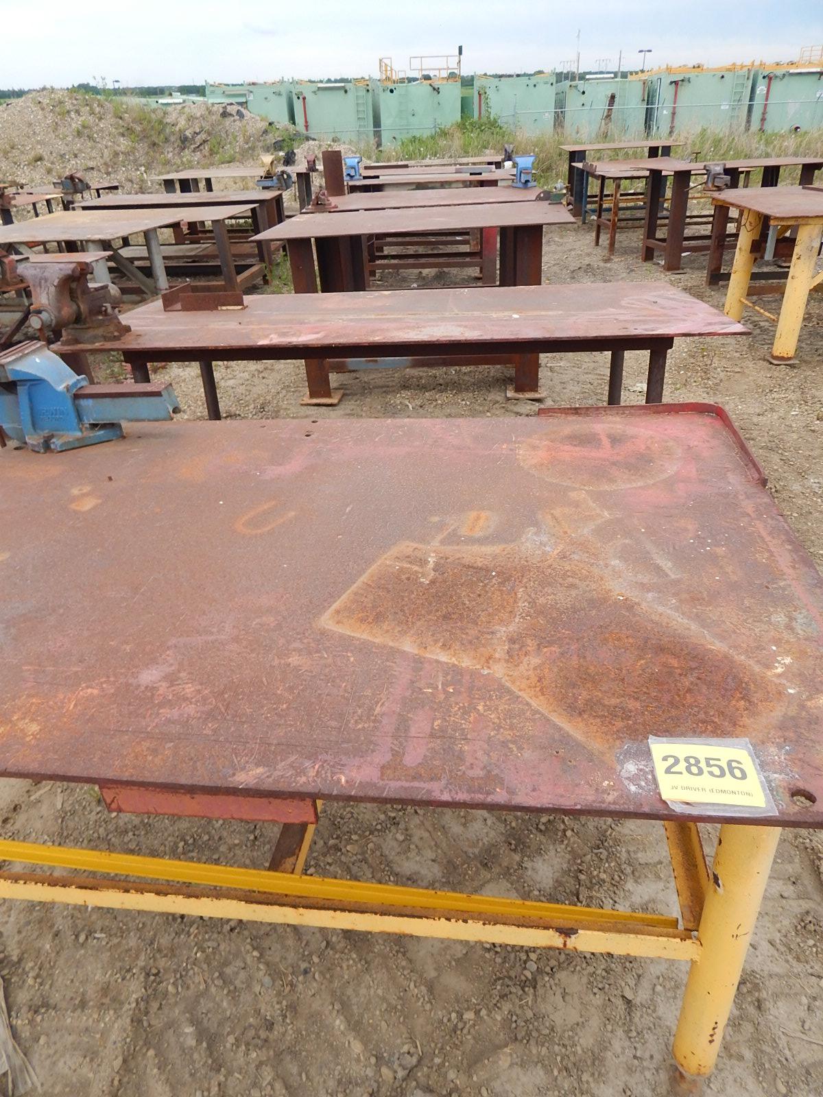 LOT/ STEEL WORK TABLES
