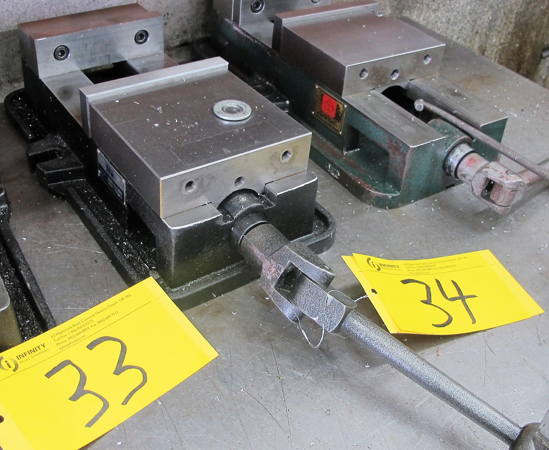 "Lot 34 - STM 6"" MACHINE VISE"