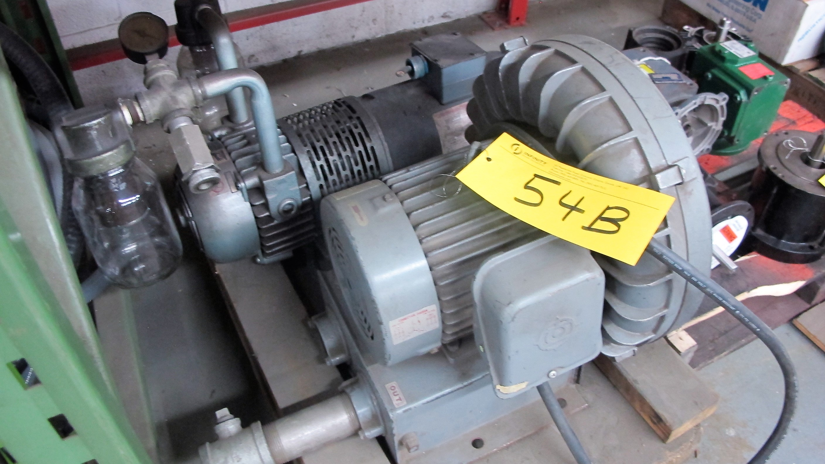 Lot 54B - SPENCER VORTEX BLOWER AND VACUUM PUMP