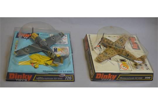 Cockpit plastique Dinky toys MESSERSCHMITT réf 726 B100