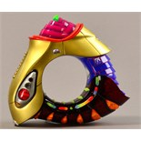 PETER CHANG (born 1944); 'German bracelet', multi-coloured acrylic resin and aluminium, made 2006,