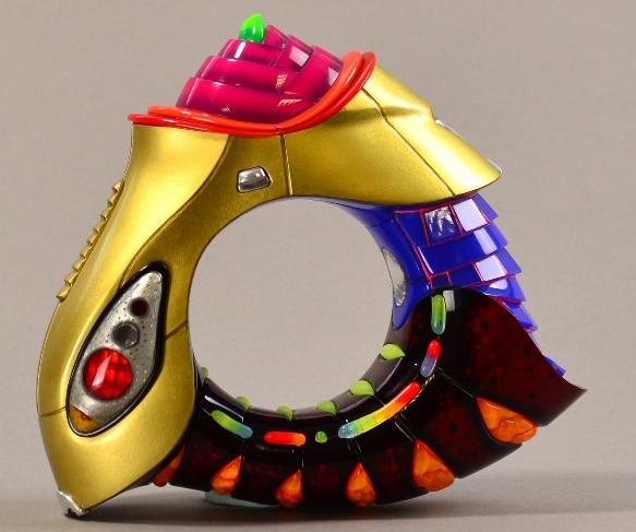 Peter Chang Born 1944 German Bracelet Multi Coloured