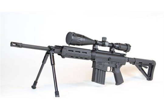 DPMS Panther Arms  308 Cal Rifle Model LR-308 with Scope, Tripod, s
