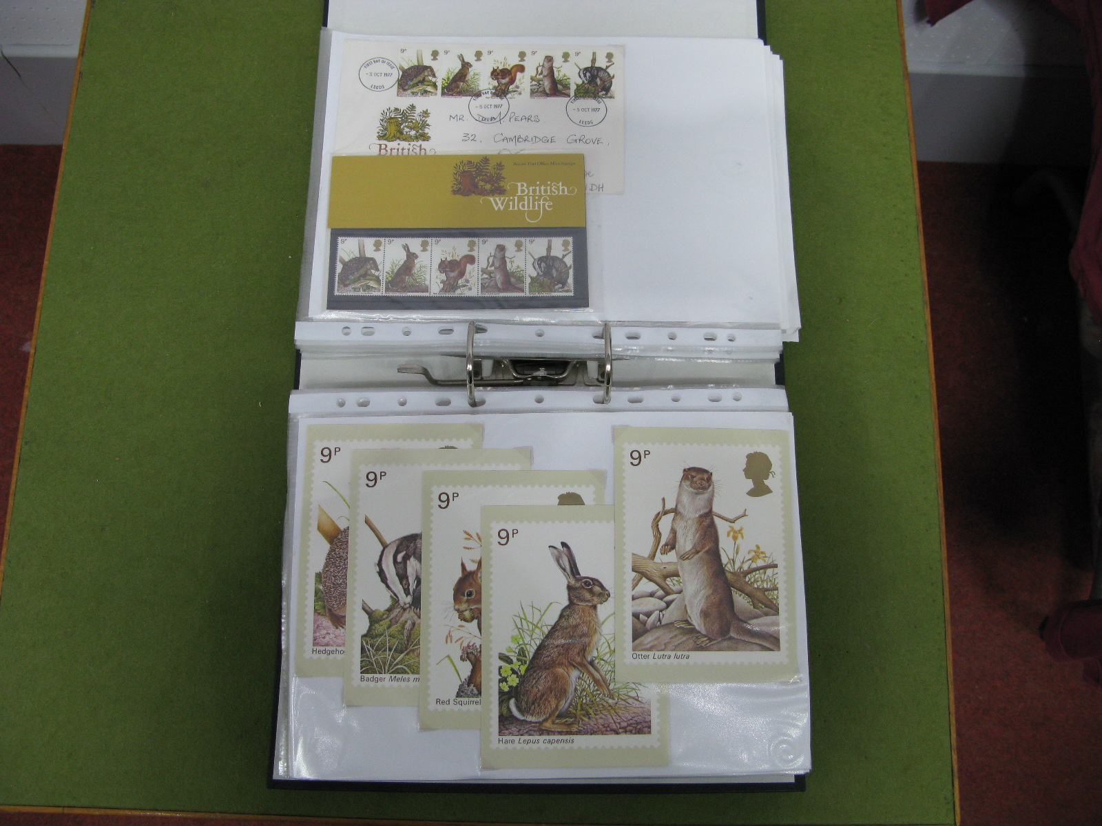 Lot 24 - A Collection of First Day Covers, PHQ Cards and Presentation Packs, in an album from 1976 - 1979.